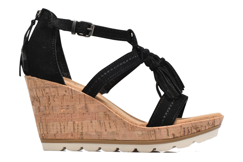 Sandali e scarpe aperte Minnetonka Lincoln Nero immagine posteriore