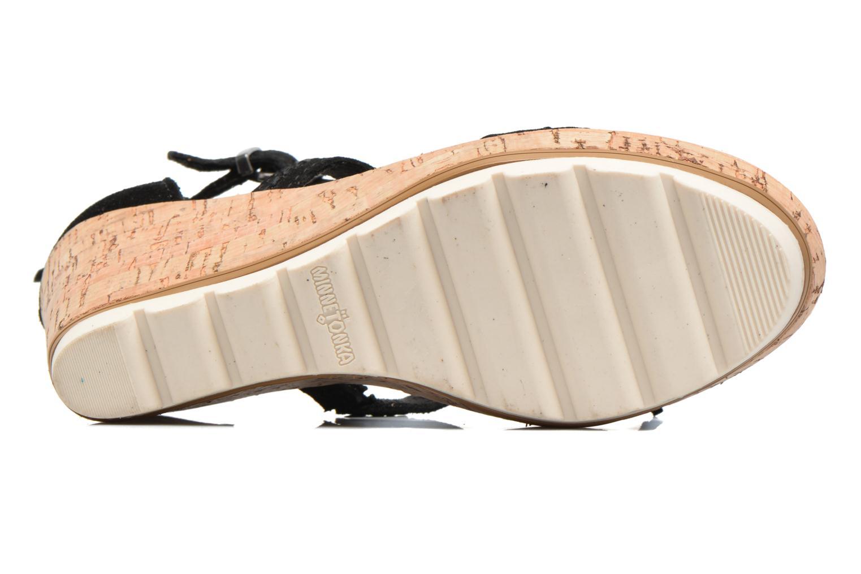 Sandali e scarpe aperte Minnetonka Lincoln Nero immagine dall'alto