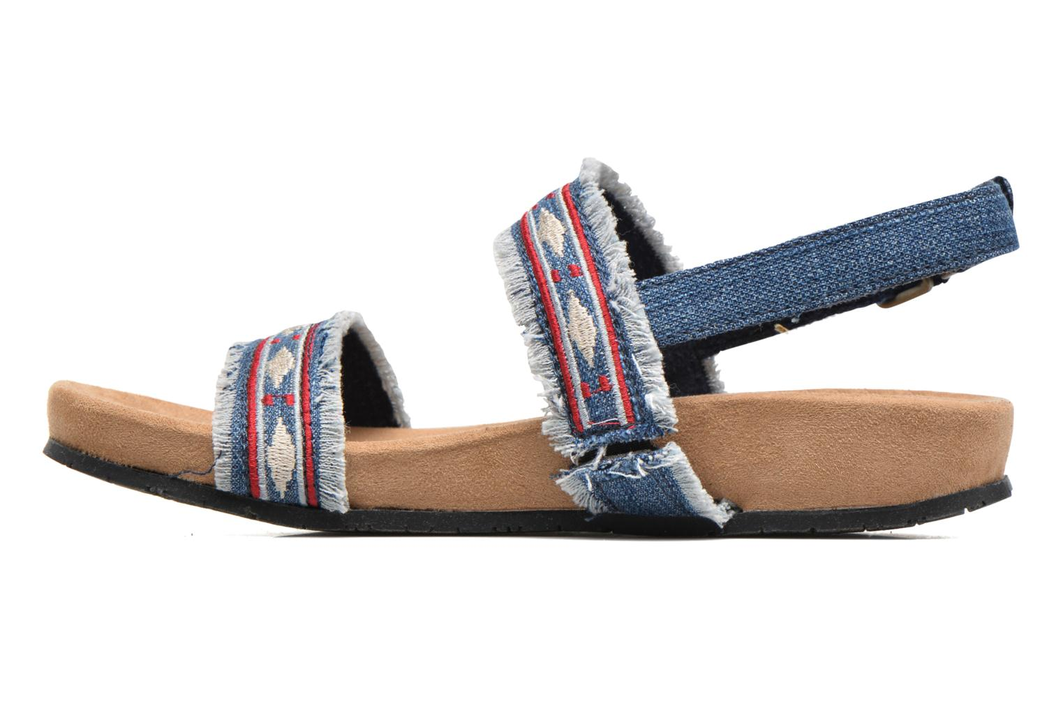 Sandals Minnetonka Melody Blue front view