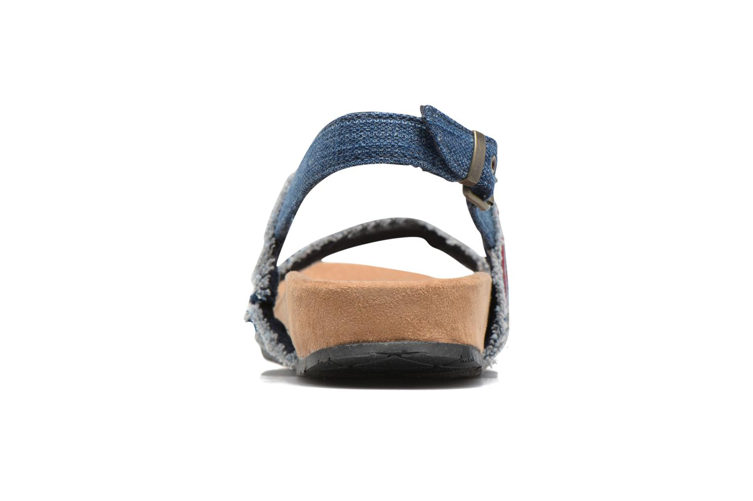 Sandals Minnetonka Melody Blue view from the right