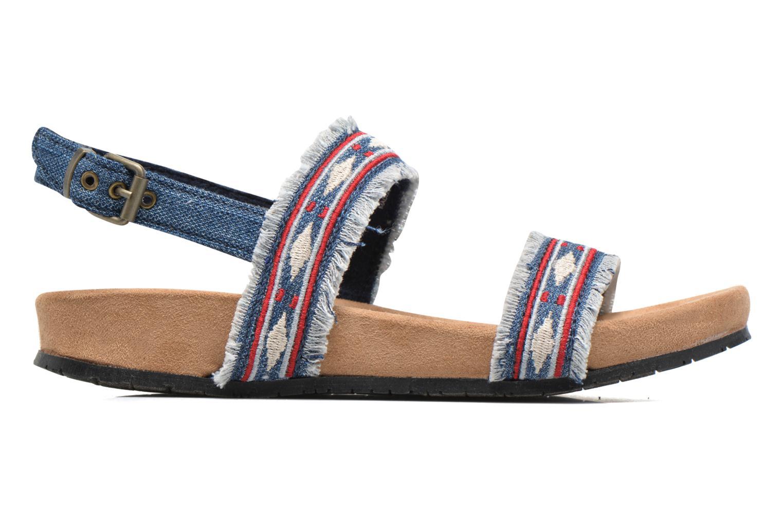 Sandals Minnetonka Melody Blue back view