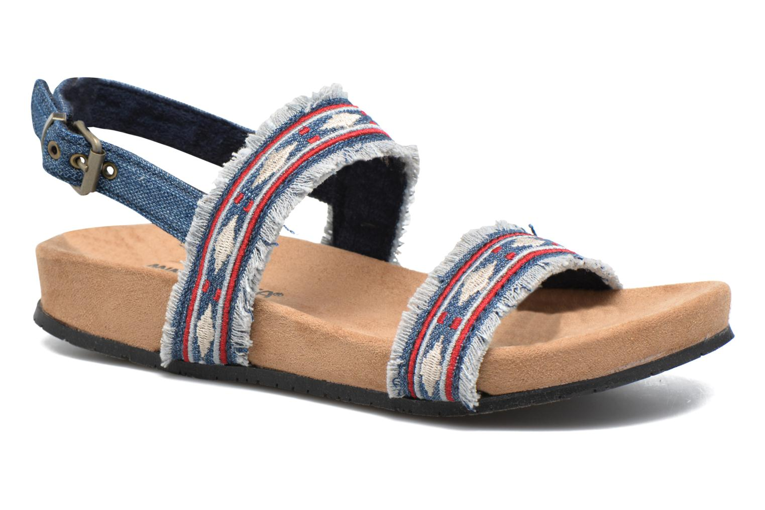 Sandals Minnetonka Melody Blue detailed view/ Pair view