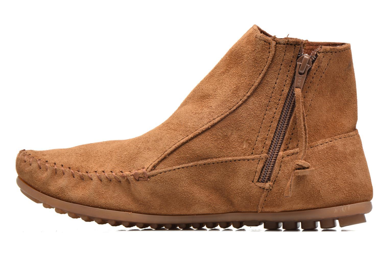 Boots en enkellaarsjes Minnetonka Willow Boot Bruin voorkant