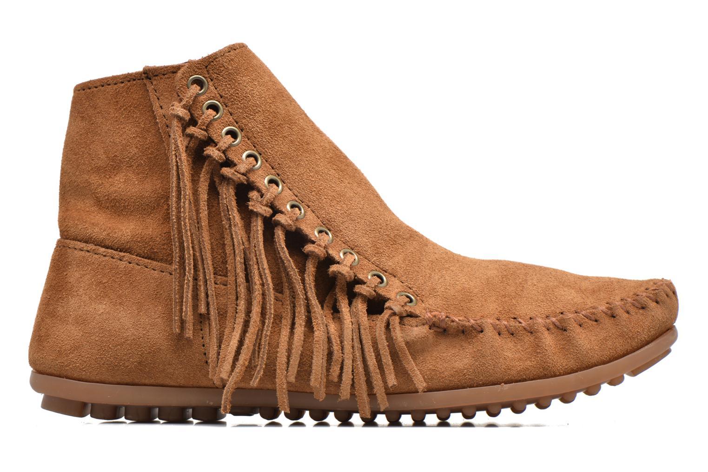Boots en enkellaarsjes Minnetonka Willow Boot Bruin achterkant