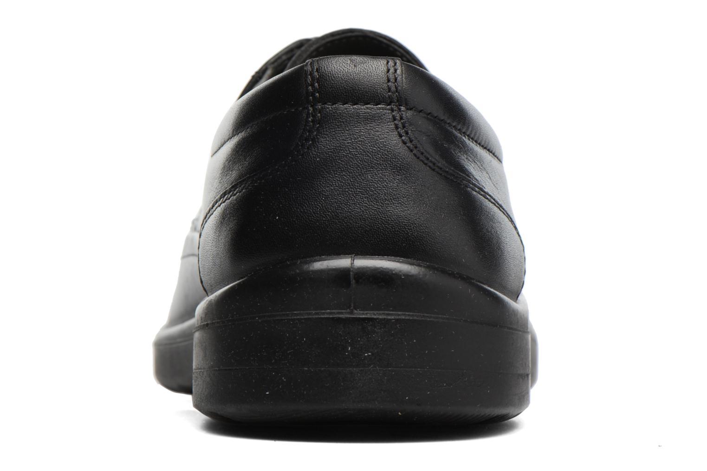 Chaussures à lacets Sledgers Gaf Noir vue droite