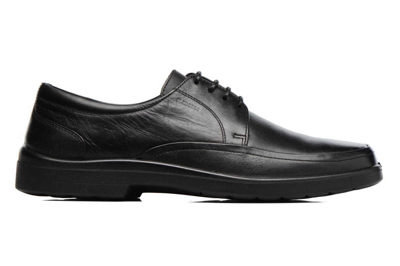 Chaussures à lacets Sledgers Gaf Noir vue derrière