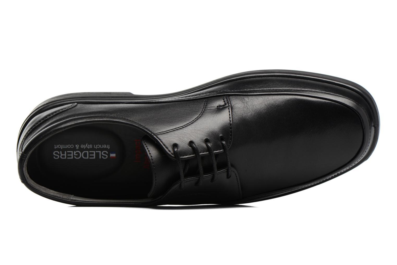 Chaussures à lacets Sledgers Gaf Noir vue gauche