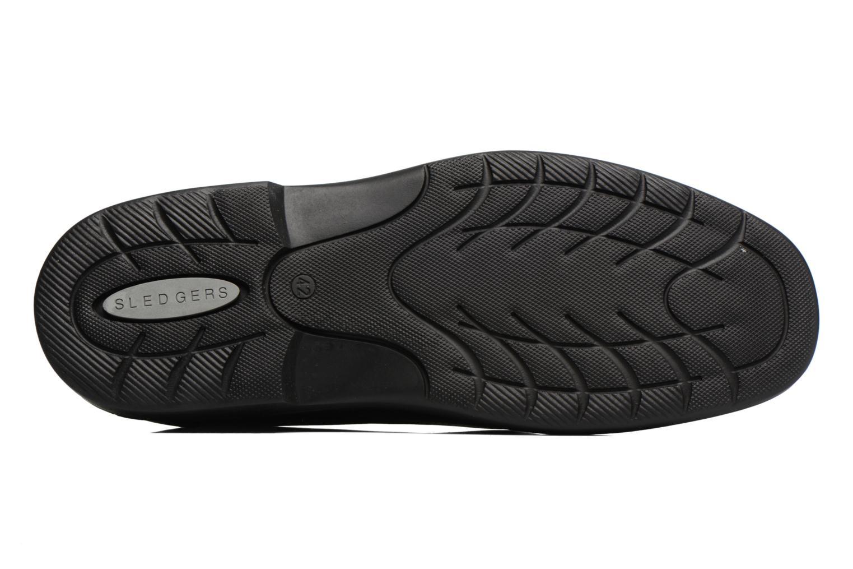 Chaussures à lacets Sledgers Gaf Noir vue haut