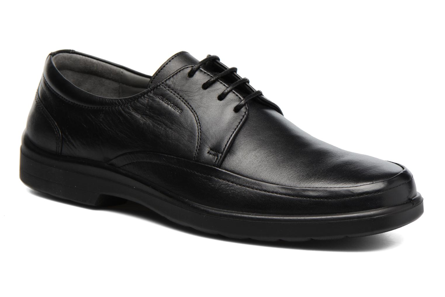 Lace-up shoes Sledgers Gaf Black detailed view/ Pair view