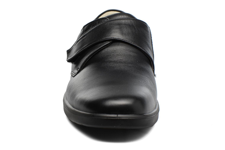 Chaussures à scratch Sledgers Game Noir vue portées chaussures