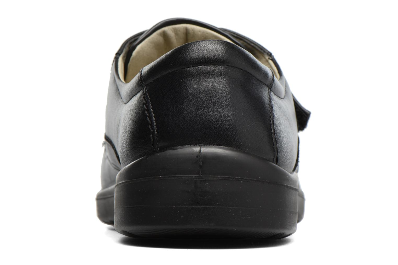 Chaussures à scratch Sledgers Game Noir vue droite
