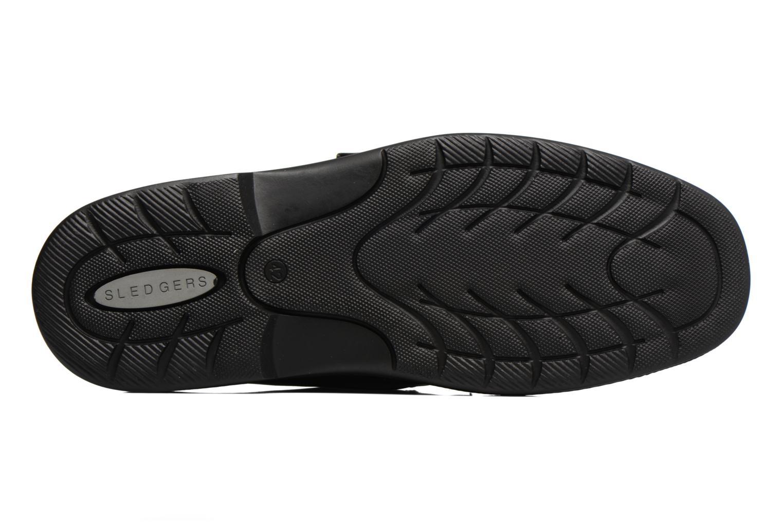 Chaussures à scratch Sledgers Game Noir vue haut