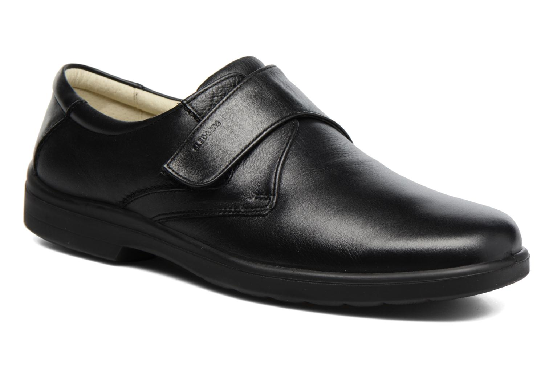 Schoenen met klitteband Sledgers Game Zwart detail
