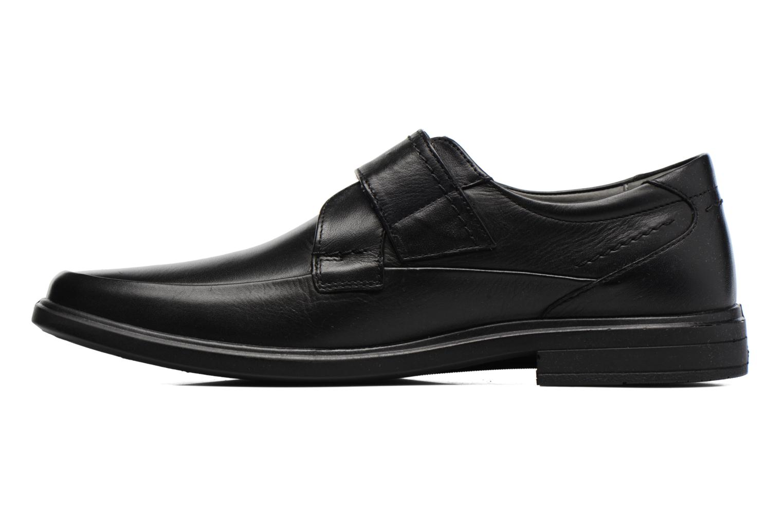 Schoenen met klitteband Sledgers Joute Zwart voorkant