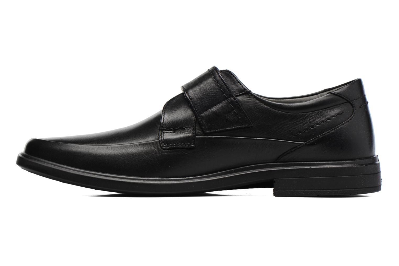 Zapatos con velcro Sledgers Joute Negro vista de frente