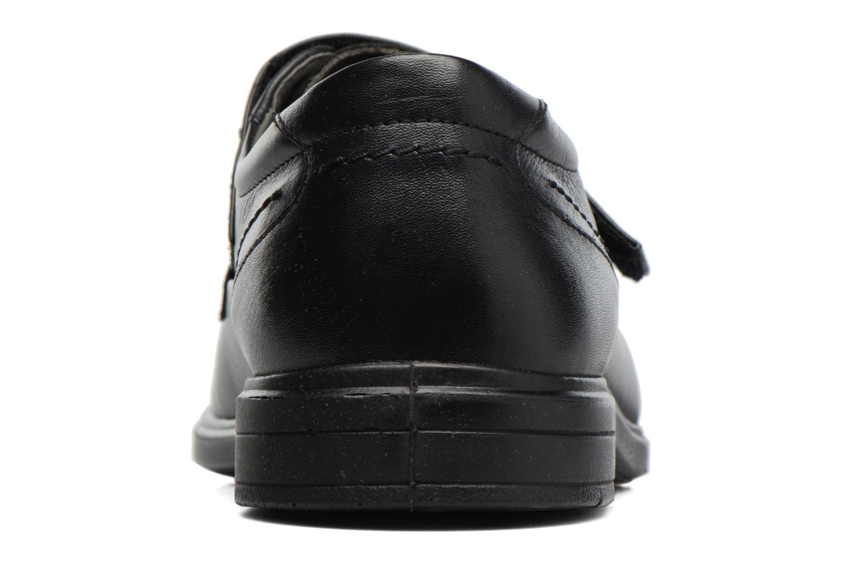 Zapatos con velcro Sledgers Joute Negro vista lateral derecha