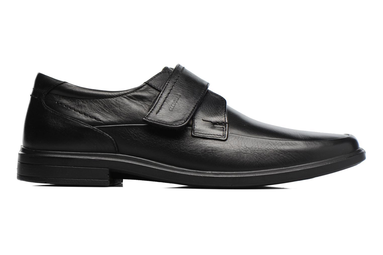 Schoenen met klitteband Sledgers Joute Zwart achterkant