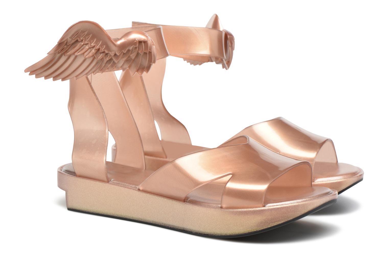Sandals Melissa Melissa x Vivienne Westwood - Anglomania Rocking Horse Pink 3/4 view