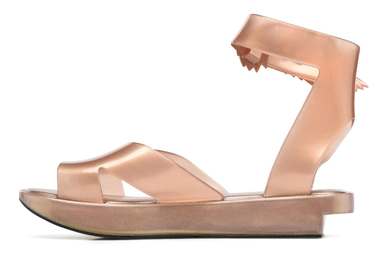 Sandals Melissa Melissa x Vivienne Westwood - Anglomania Rocking Horse Pink front view