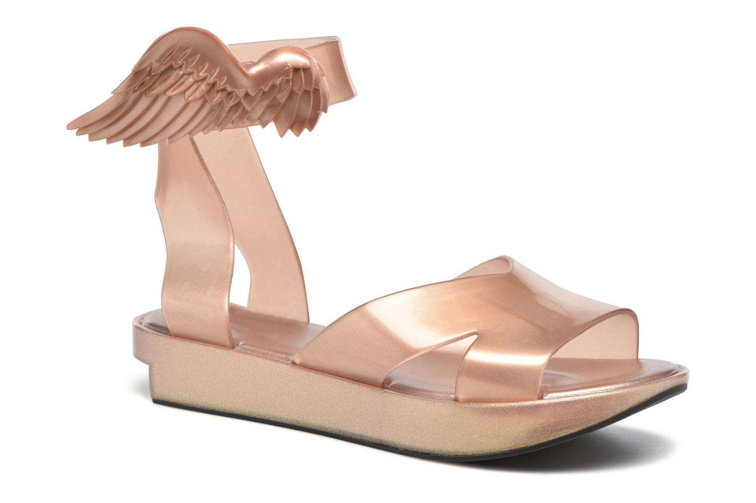 Sandals Melissa Melissa x Vivienne Westwood - Anglomania Rocking Horse Pink detailed view/ Pair view