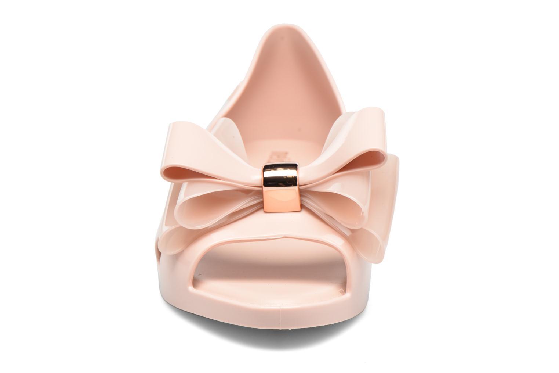 Ballerines Melissa Seduction II Rose vue portées chaussures