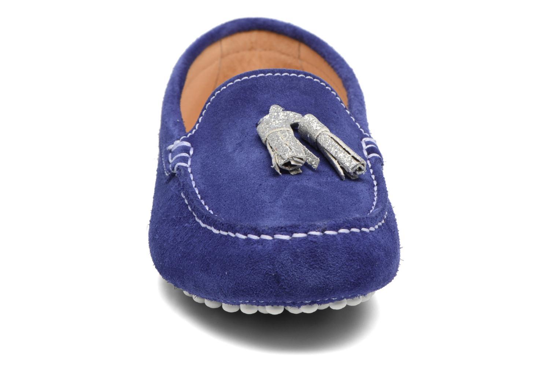 Mocassins Georgia Rose Stamou Bleu vue portées chaussures