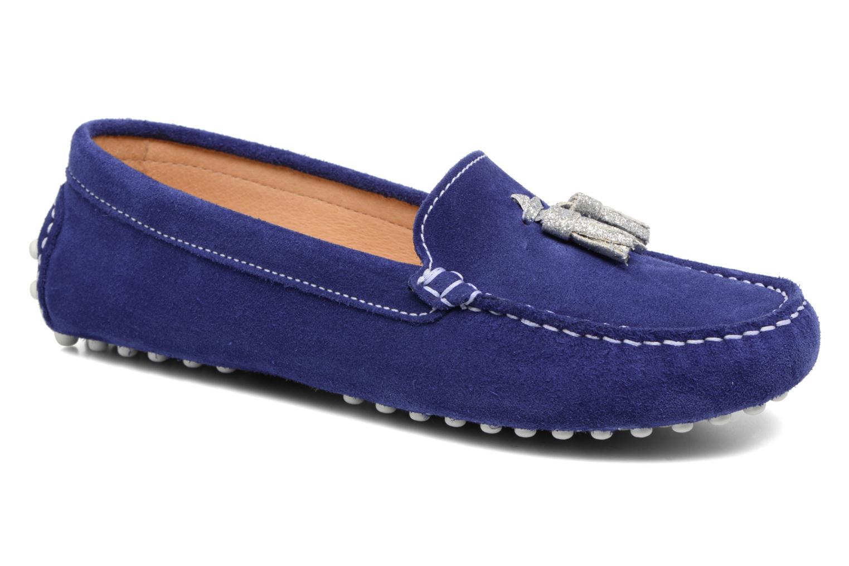 Loafers Georgia Rose Stamou Blå detaljeret billede af skoene