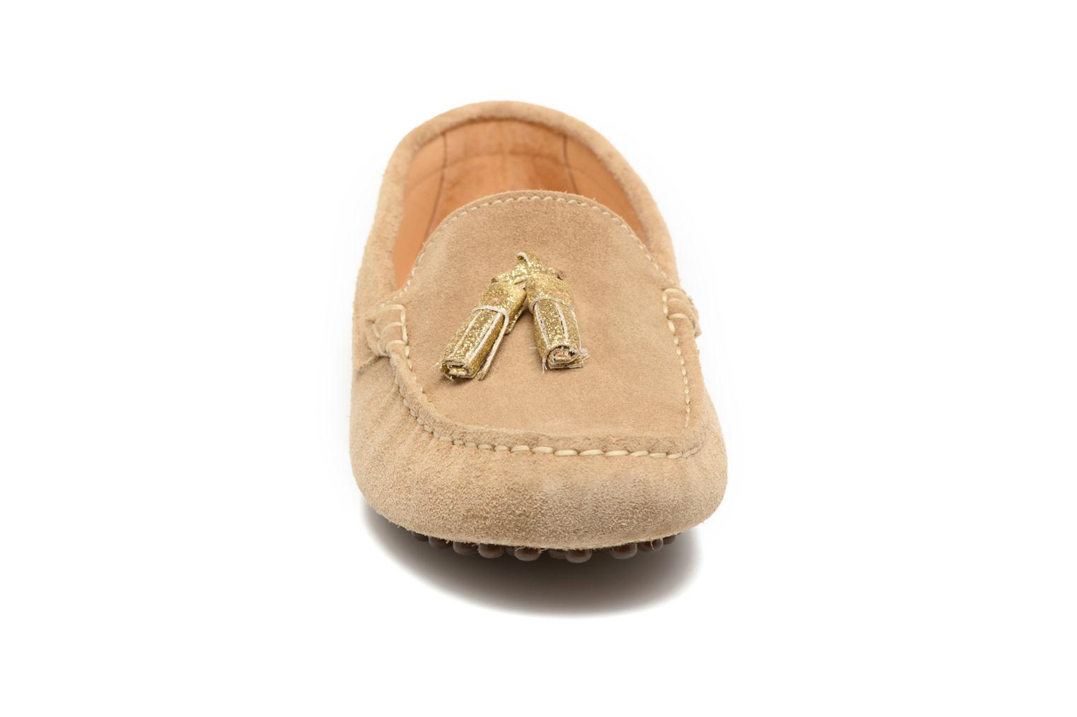 Loafers Georgia Rose Stamou Beige model view