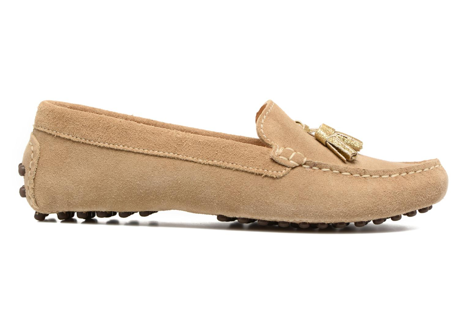 Loafers Georgia Rose Stamou Beige back view