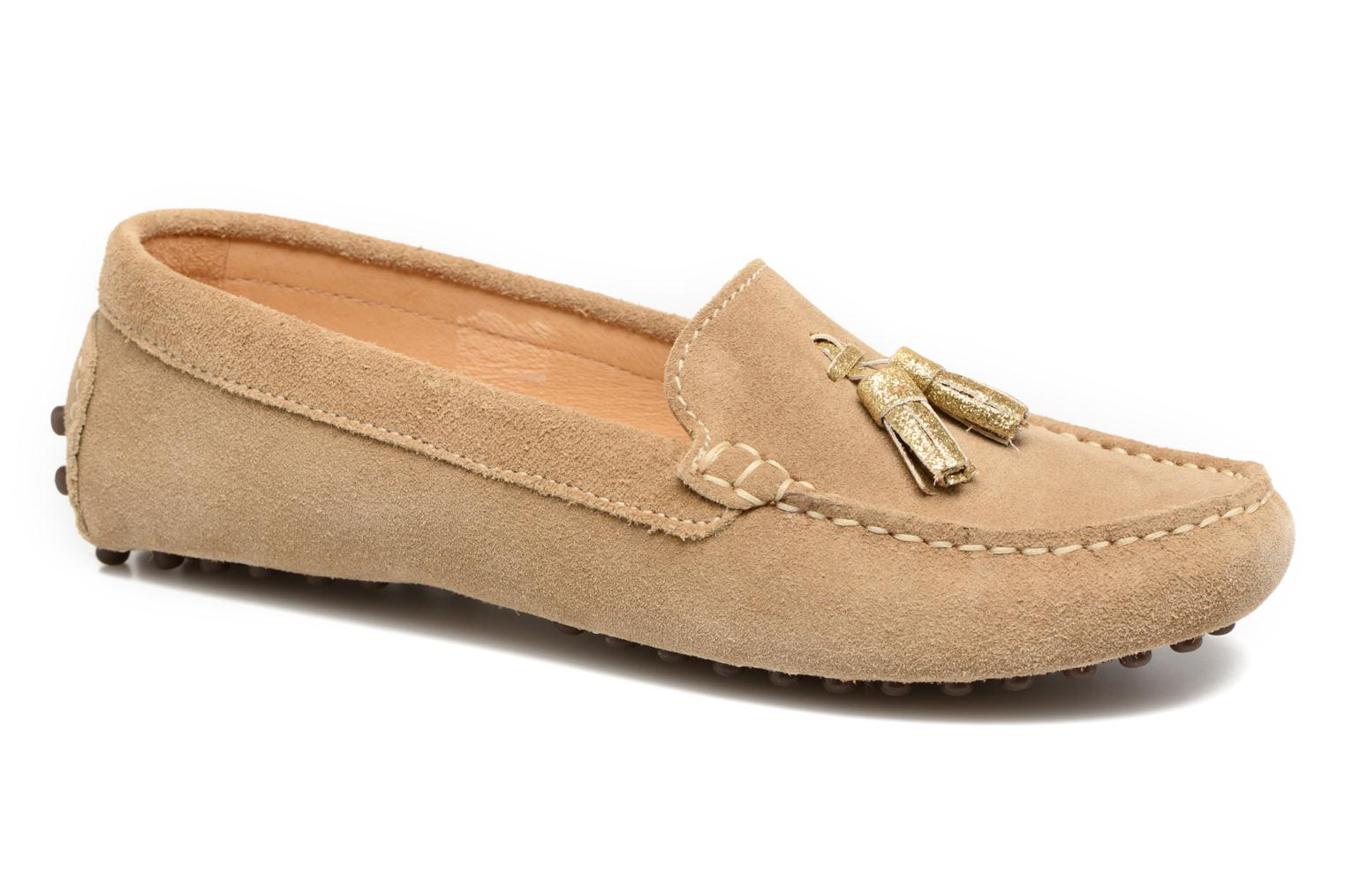 Loafers Georgia Rose Stamou Beige detailed view/ Pair view