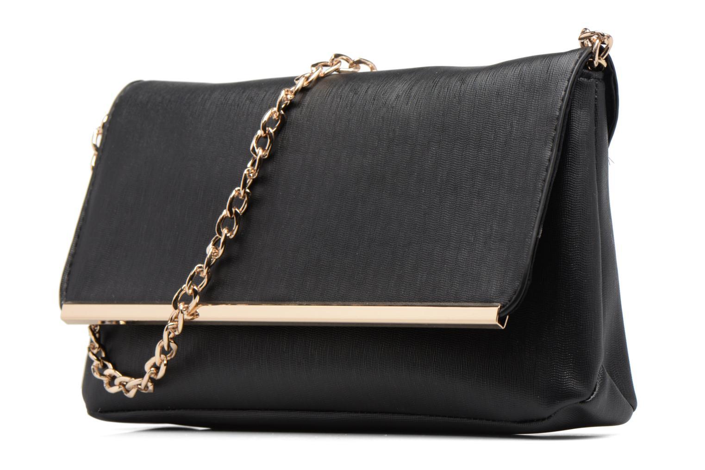 Sacs pochettes Dorothy Perkins Pouch Bar Clutch Noir vue portées chaussures
