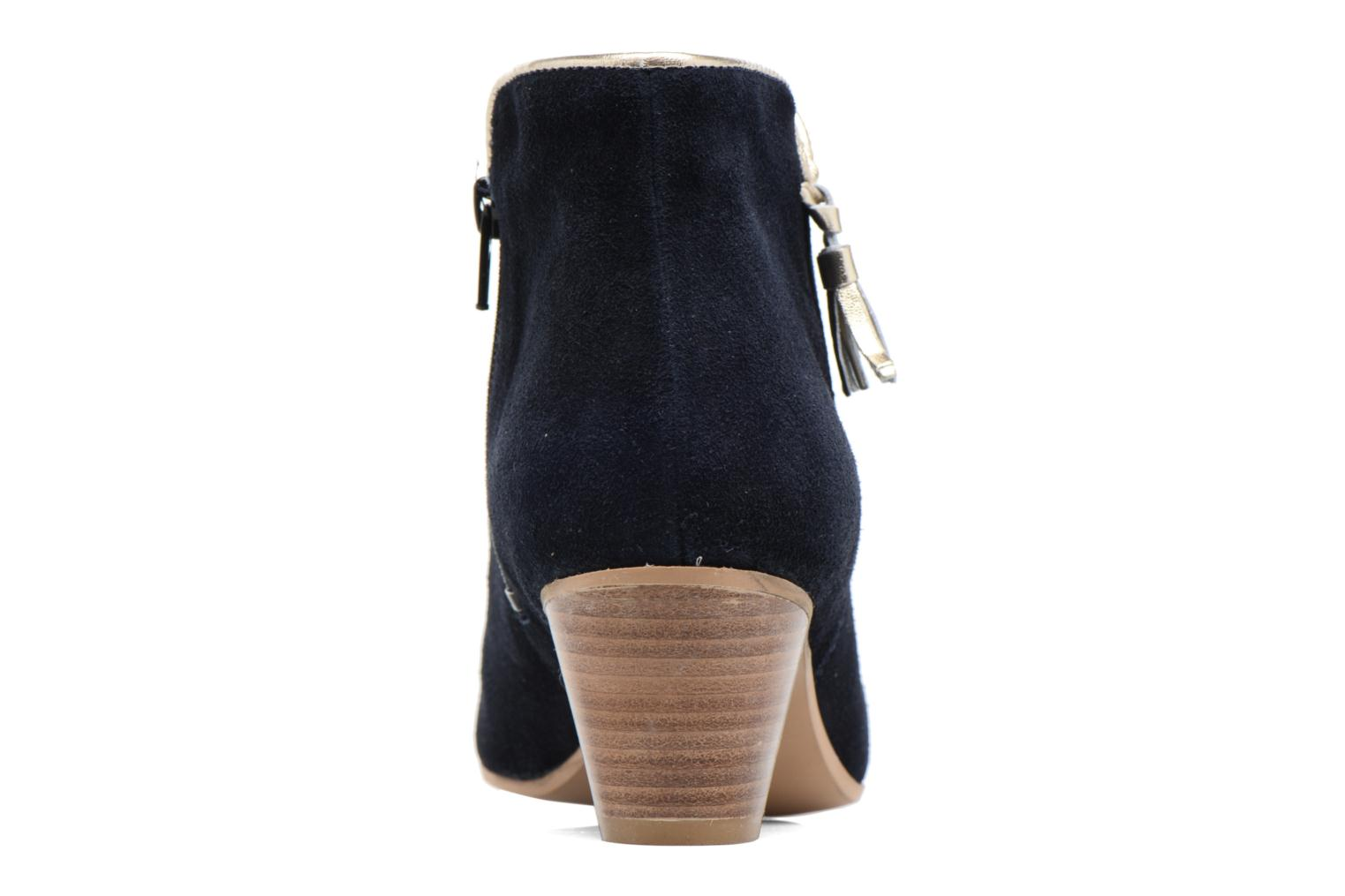 Ankle boots Georgia Rose Calipo Blue view from the right