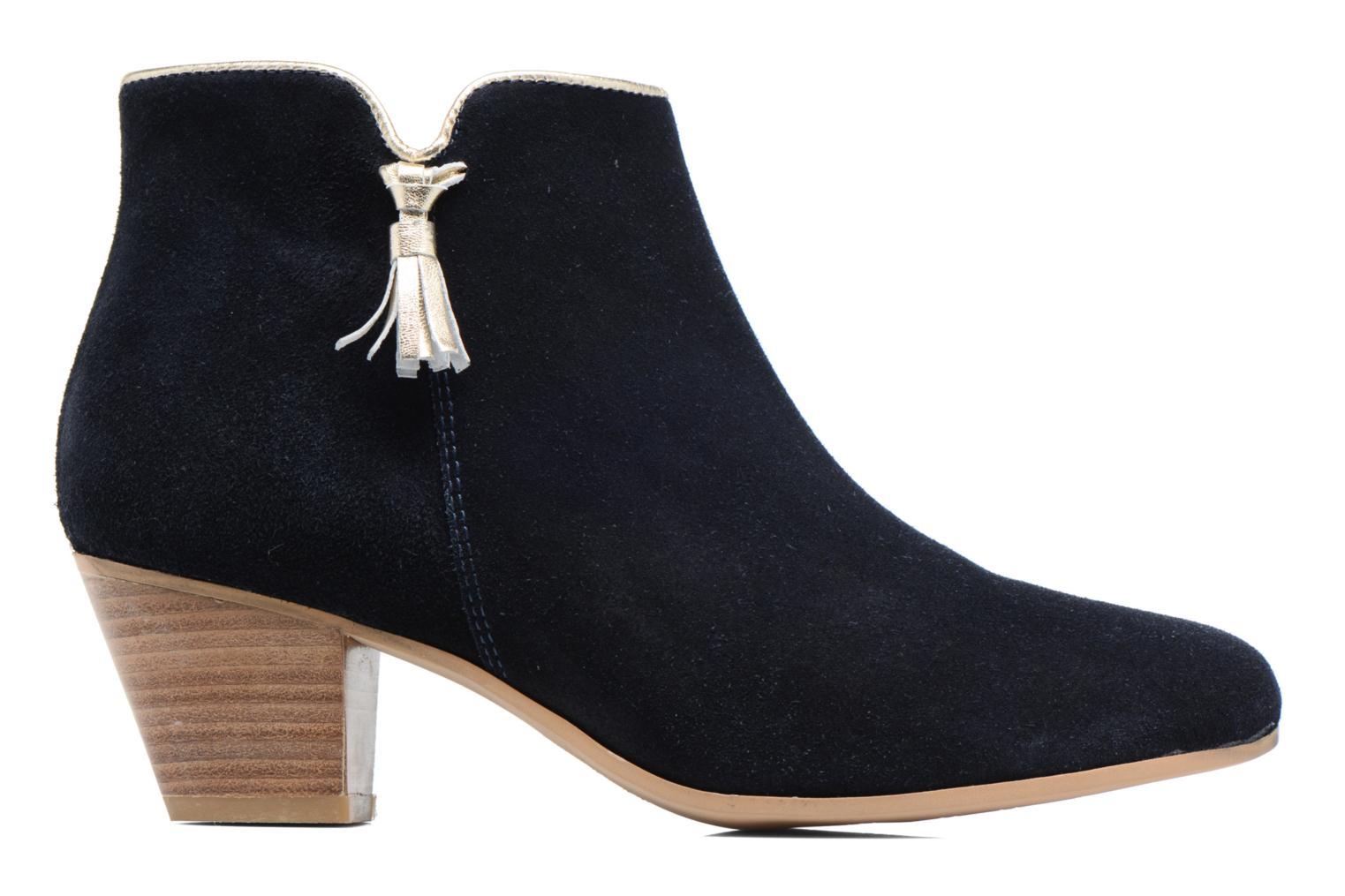 Ankle boots Georgia Rose Calipo Blue back view