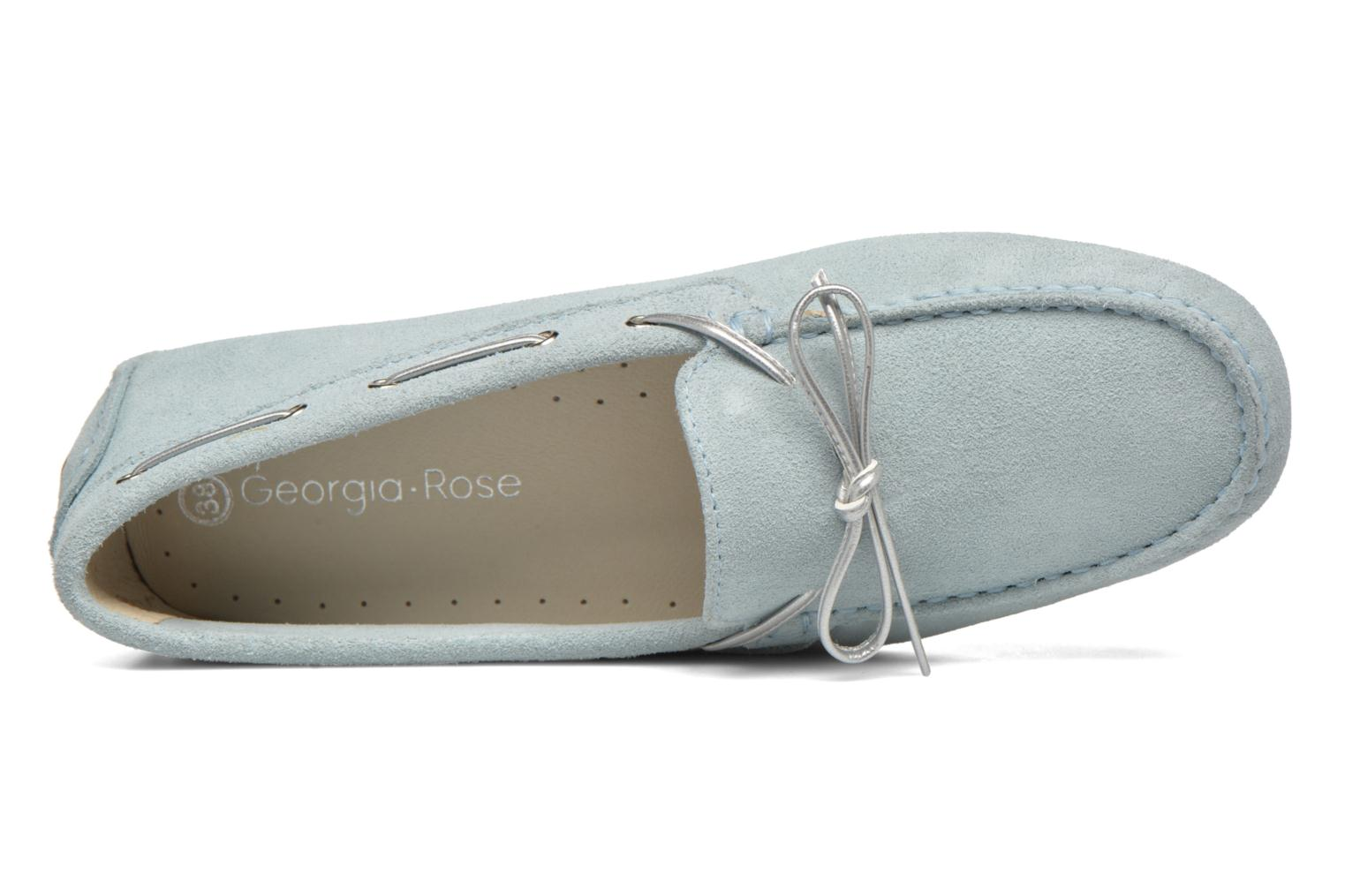 Loafers Georgia Rose Rettac Blue view from the left