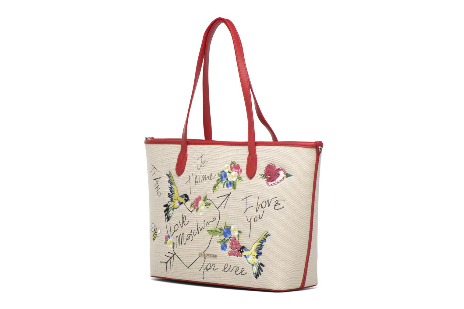 JC4276PP03 10A NATURAL CANVAS RED