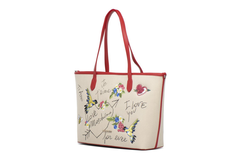 Handväskor Love Moschino JC4276PP03 Röd bild av skorna på