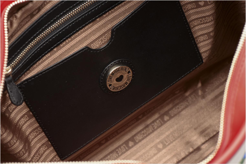 Handväskor Love Moschino JC4276PP03 Röd bild från baksidan