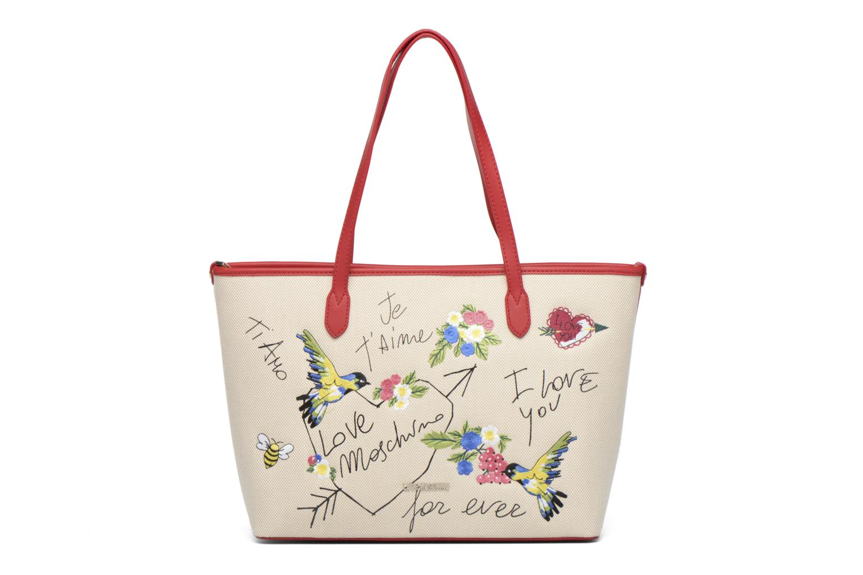 Handväskor Love Moschino JC4276PP03 Röd detaljerad bild på paret