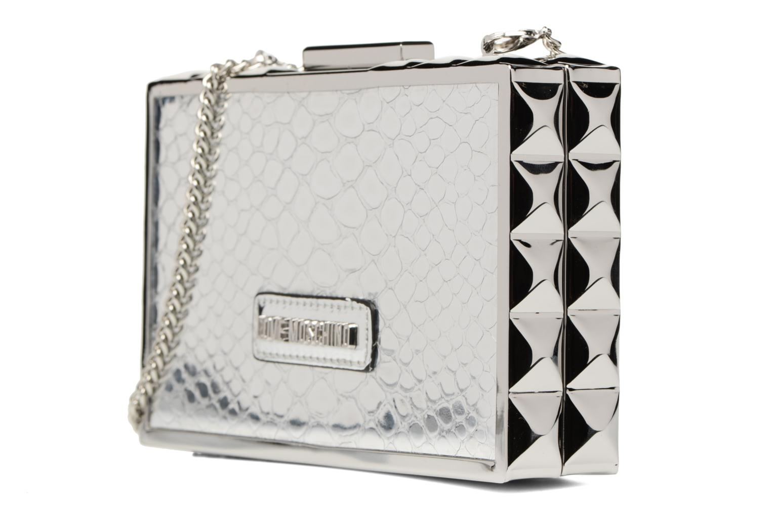 Handbags Love Moschino JC4315PP03 Silver model view