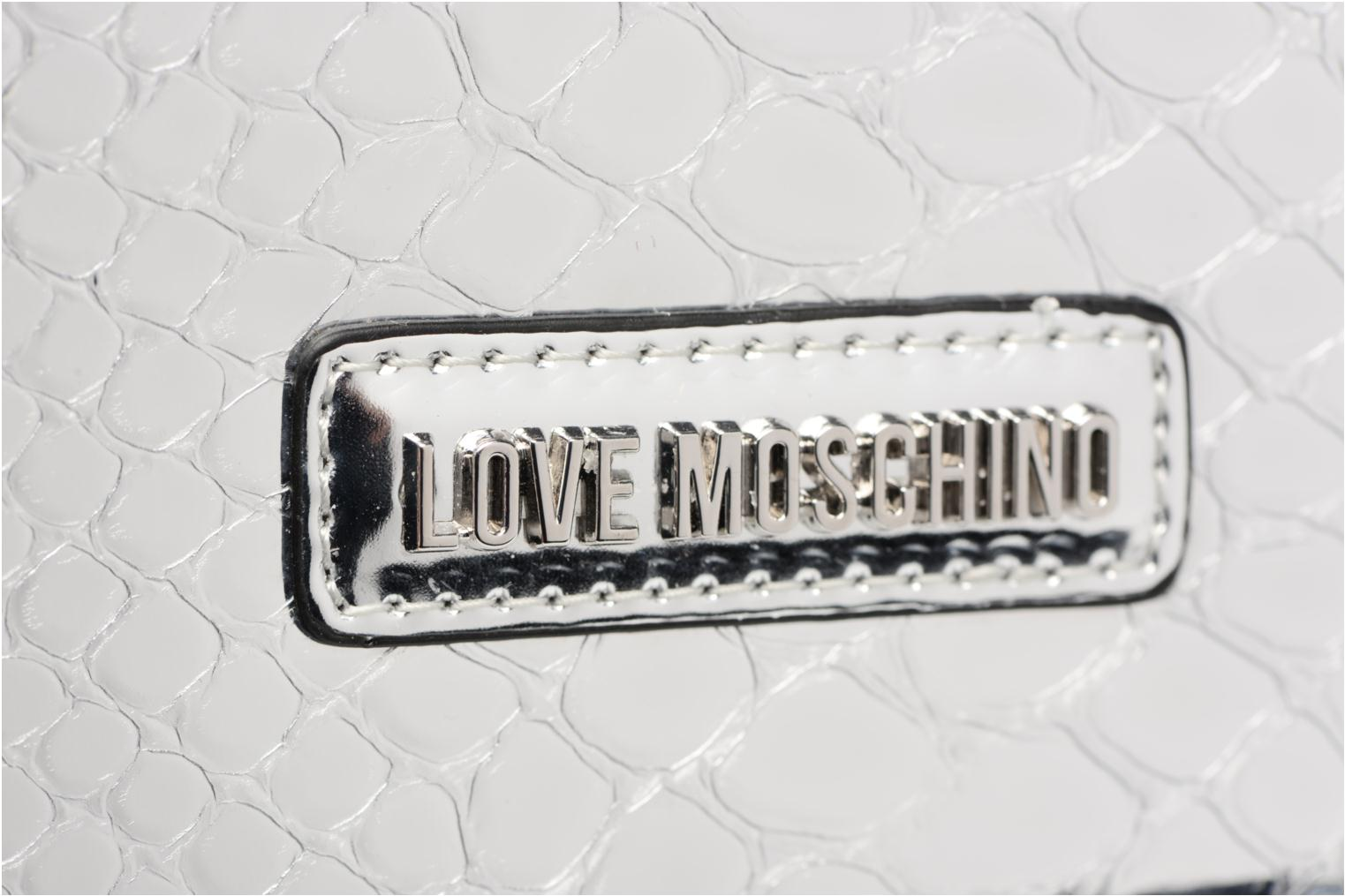 Handbags Love Moschino JC4315PP03 Silver view from the left