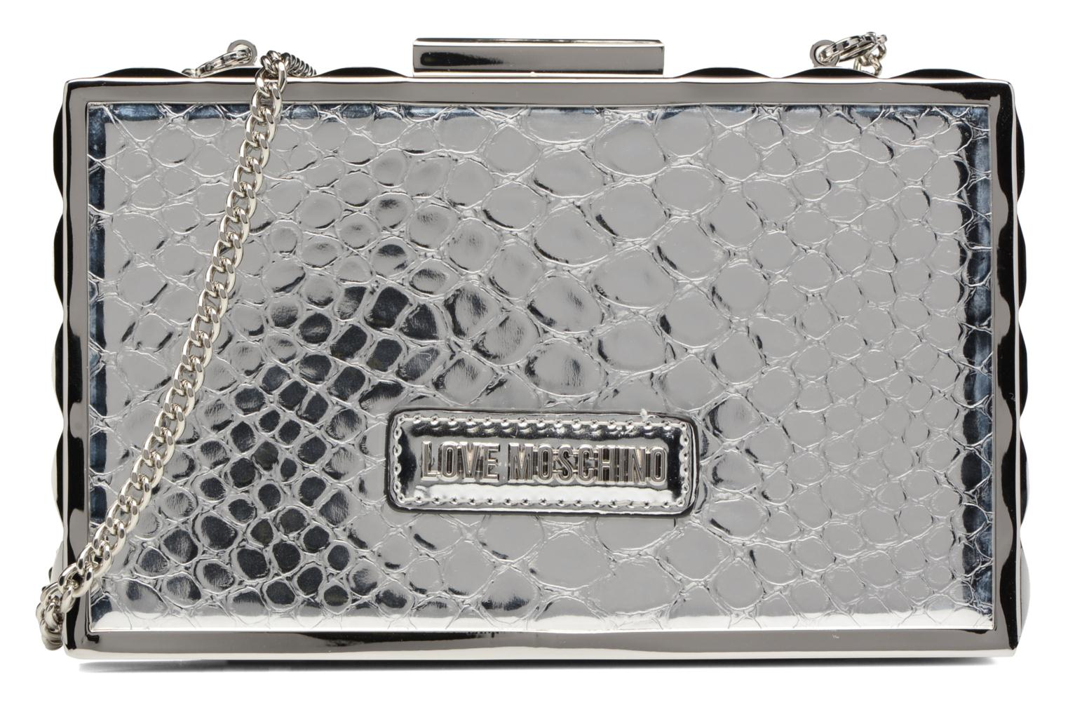 Handbags Love Moschino JC4315PP03 Silver detailed view/ Pair view