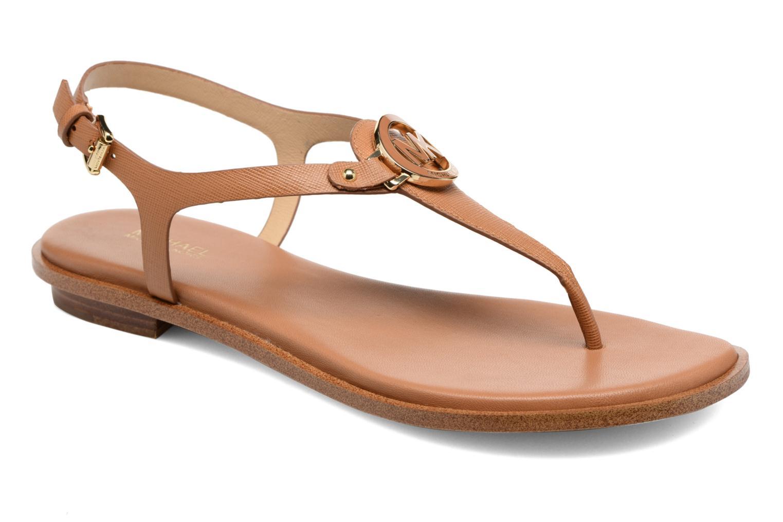Sandales et nu-pieds Michael Michael Kors Lee Thong Marron vue détail/paire