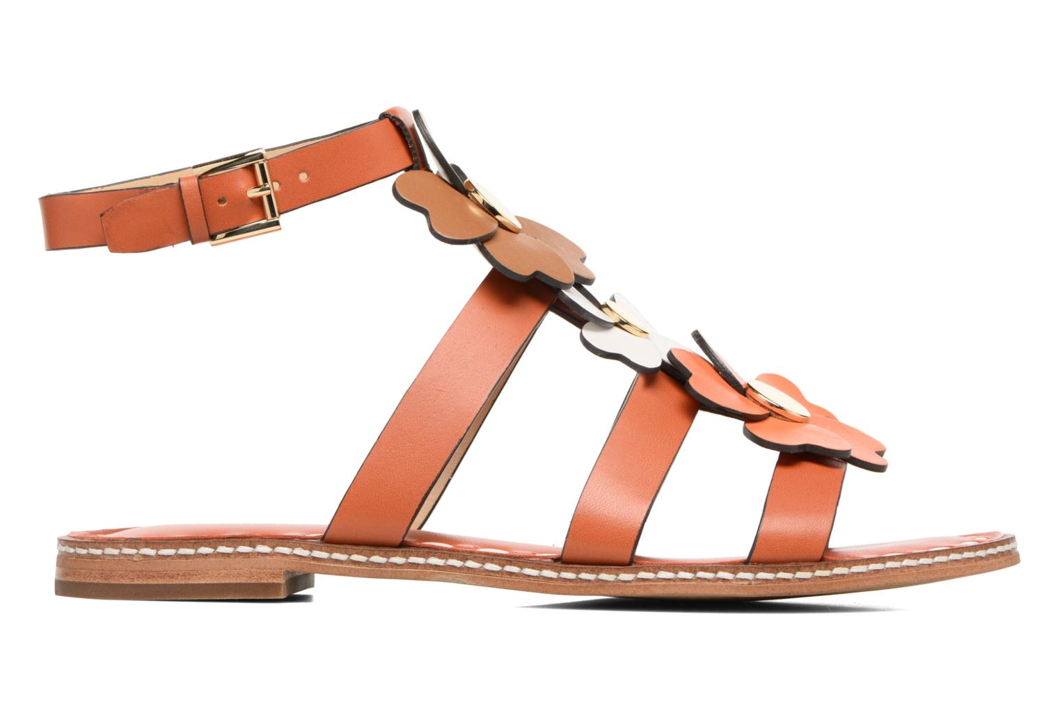 Kit Flat Sandal Orange/Acorn