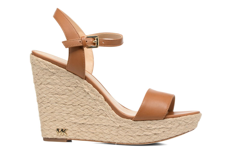 Sandali e scarpe aperte Michael Michael Kors Jill Wedge Marrone immagine posteriore