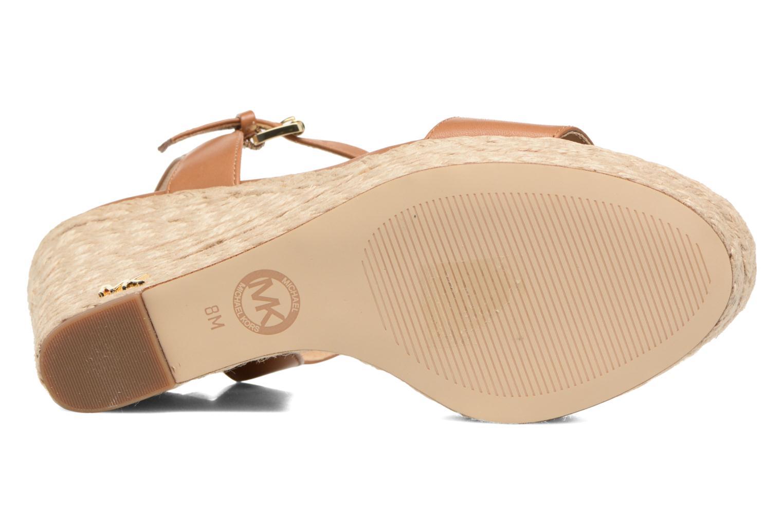 Sandali e scarpe aperte Michael Michael Kors Jill Wedge Marrone immagine dall'alto