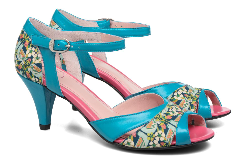 Sandales et nu-pieds Annabel Winship Piu-Piu Bleu vue 3/4