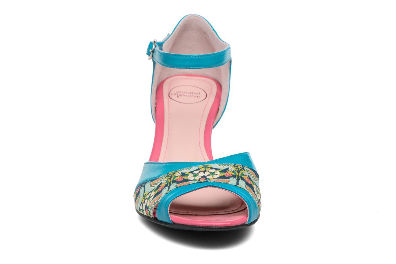 Sandales et nu-pieds Annabel Winship Piu-Piu Bleu vue portées chaussures