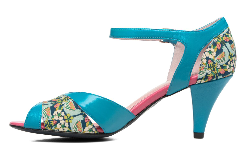 Sandales et nu-pieds Annabel Winship Piu-Piu Bleu vue face