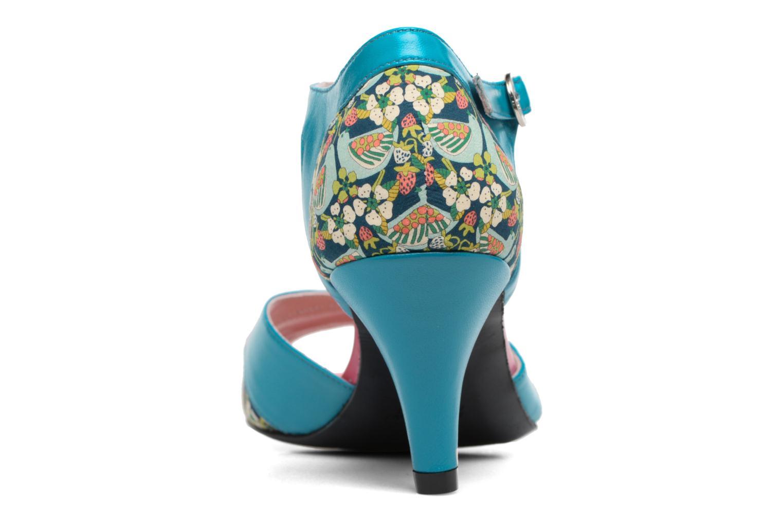 Sandales et nu-pieds Annabel Winship Piu-Piu Bleu vue droite