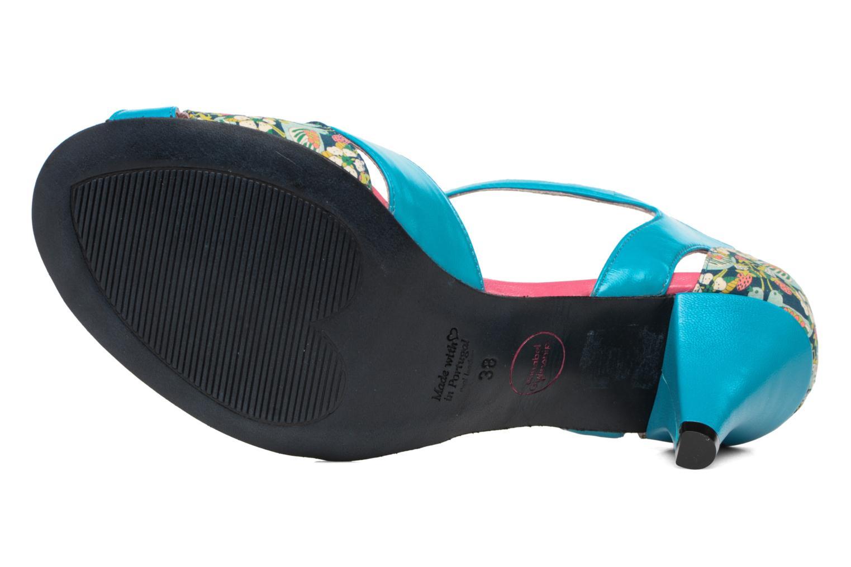 Sandales et nu-pieds Annabel Winship Piu-Piu Bleu vue haut